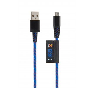 Xtorm Solid Blue Micro USB Cable