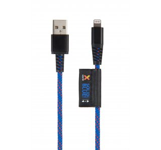 Xtorm Solid Blue Lightning USB cable