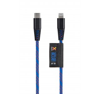 Xtorm Solid Blue USB-C Lightning cable (1m)