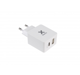 Xtorm AC Adapter 1 USB port 1 USB-C port