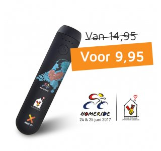 Xtorm Power Bank voor Kinderfonds HomeRide