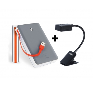 Xtorm Power Bank Free 15.000 + Clipper reading light