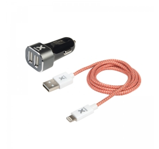 Xtorm Lightning cable + Power Car Plug