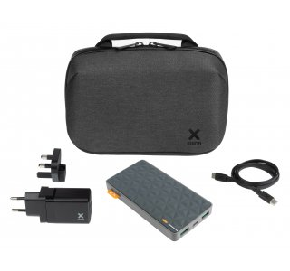 Xtorm Fast Charge Travel Kit incl.10.000 mAh Power Bank, 20W Adapter & USB-C PD cable 1m