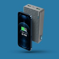 Xtorm_FuelSeries4-20W-FS402-Product-image + iPhone 12 Blue